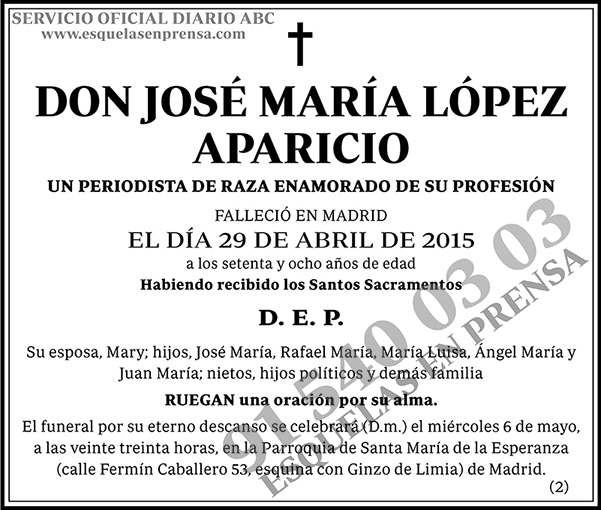 José María López Aparicio